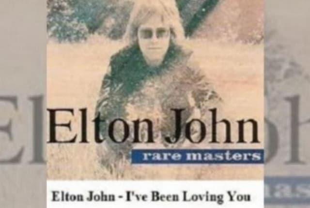 Elton John Ive Been Loving You